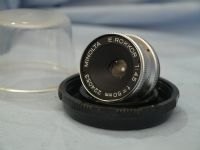 ' 50mm ' Minolta E Rokkor 50MM 4.5 Enlarger Lens Cased £14.99